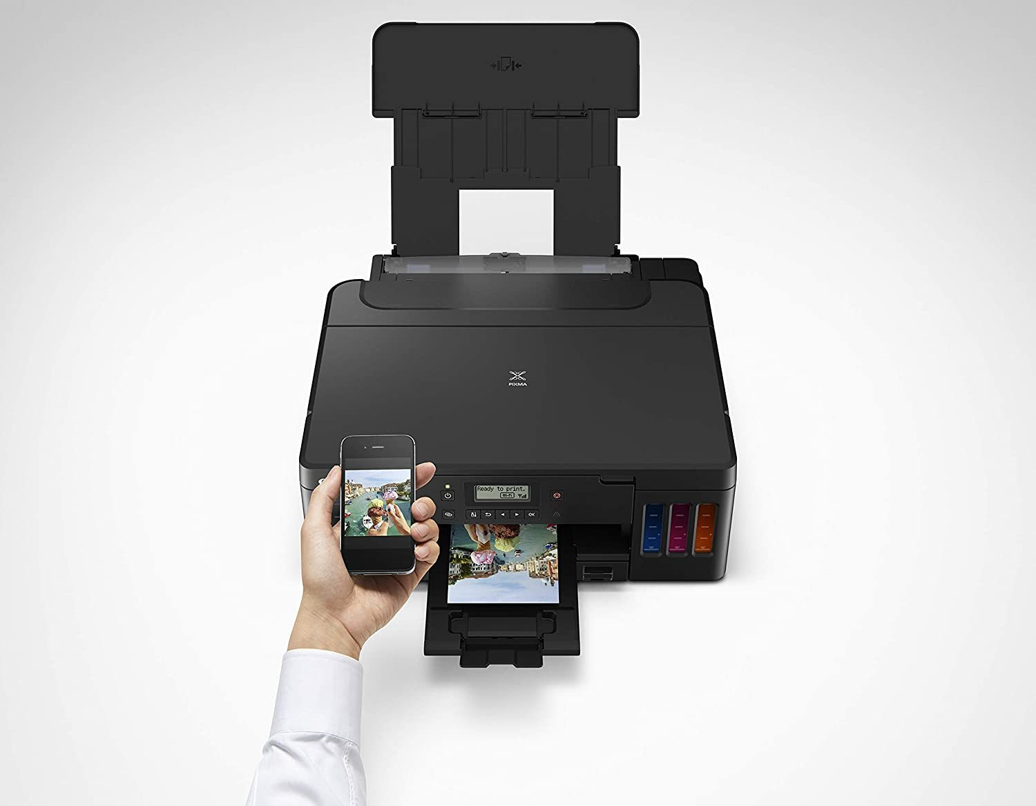 PIXMA G5020 Wireless MegaTank Single Function SuperTank Printer | Mobile & Auto 2-Sided Printing