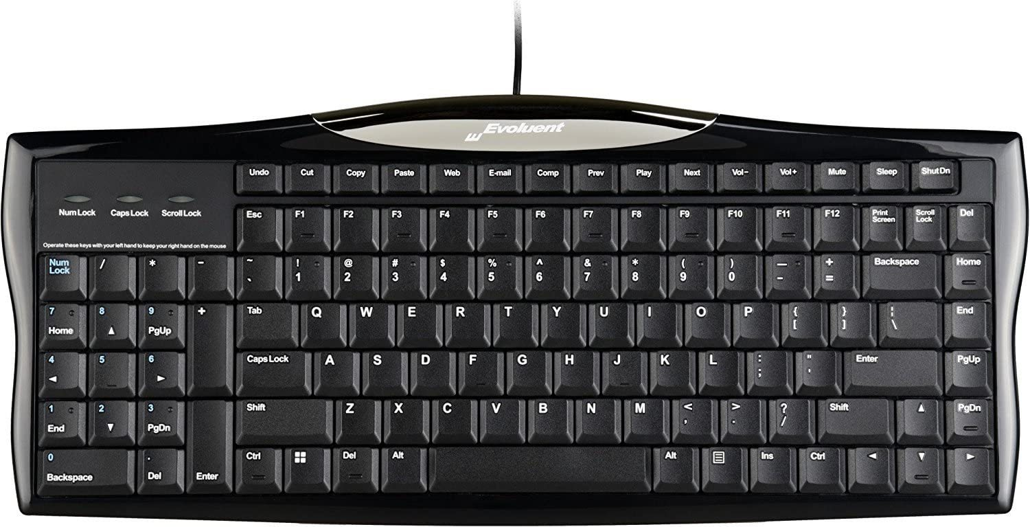 R3K Reduced Reach Right-Hand Keyboard with Wired USB Connection