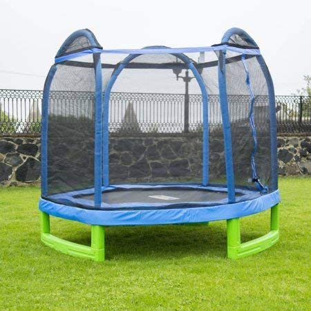 Trampoline (7' My First Trampoline Hexagon (Ages 3-10) for Kids)