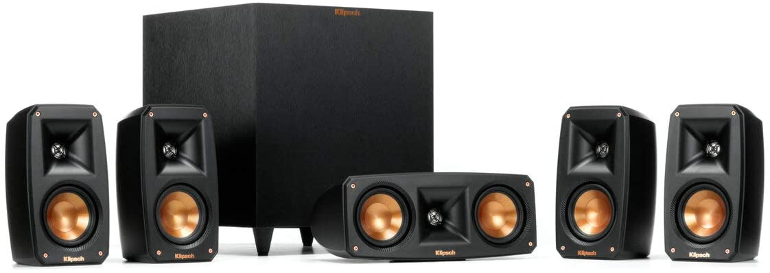 Reference Theater Pack 5 1 Channel, Wall Mounted Surround Sound System