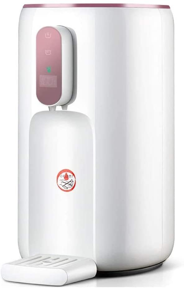 Hot Water Dispenser Smart Water Heater Home Multi-function Water Dispenser (Color : Pink, Size : 25 X 17 X 33cm)