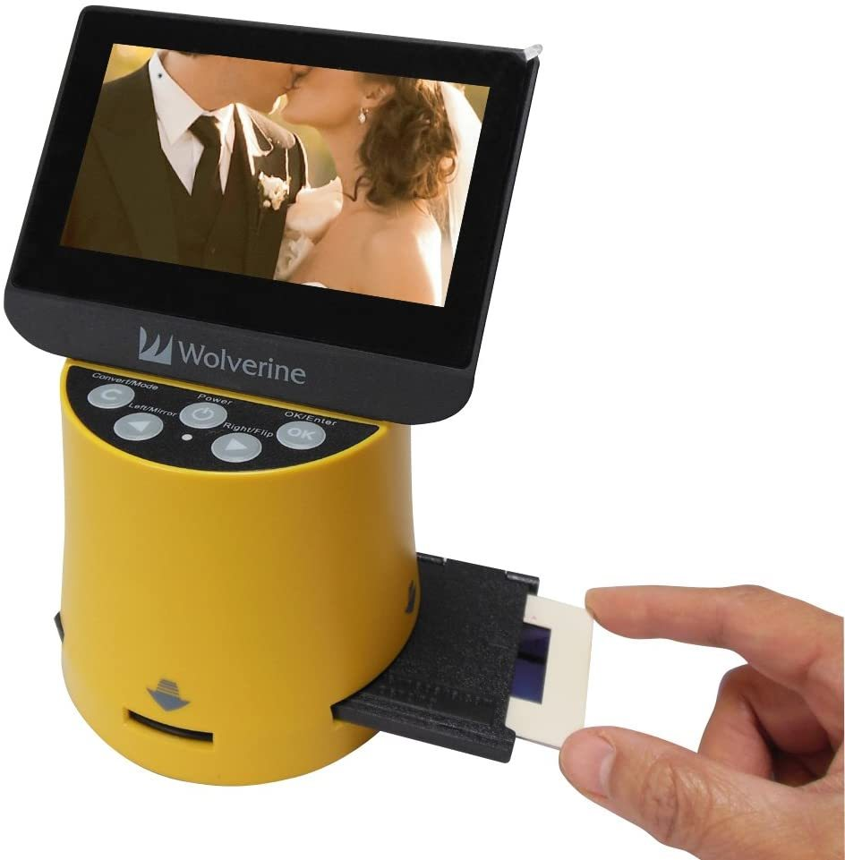 "Titan 8-in-1 High Resolution Film to Digital Converter with 4.3"" Screen and HDMI Output"