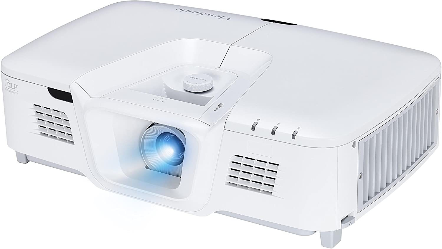 PG800HD 5000 Lumens 1080p HDMI Networkable Projector with Lens Shift, White