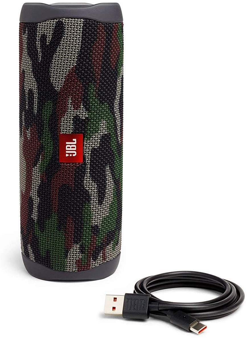 FLIP 5 - Waterproof Portable Bluetooth Speaker - Squad (New Model)