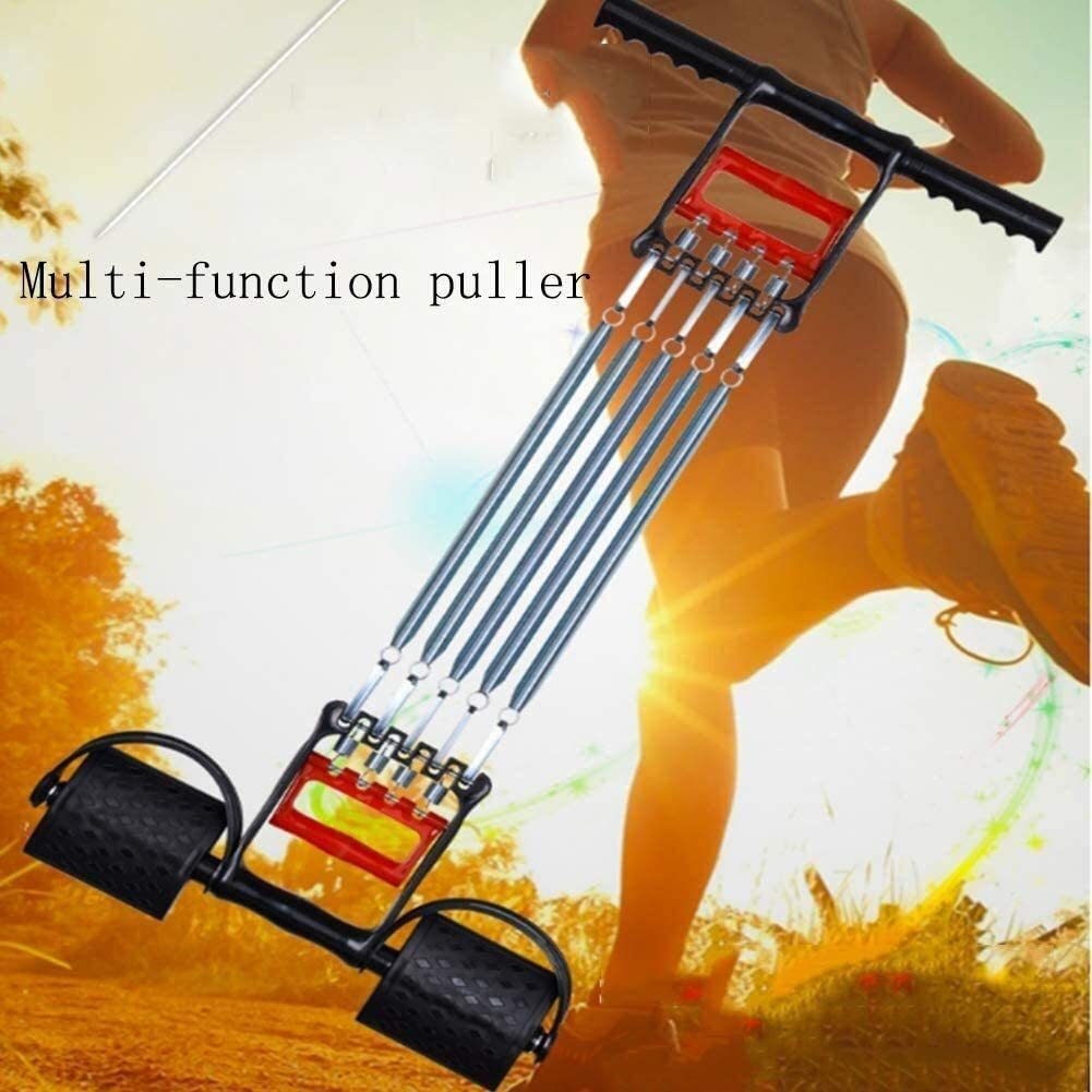 SUYJQ Multi-Function Rally, Gripper 5 Springs Muscle Training Multi Function Chest Expander Arm