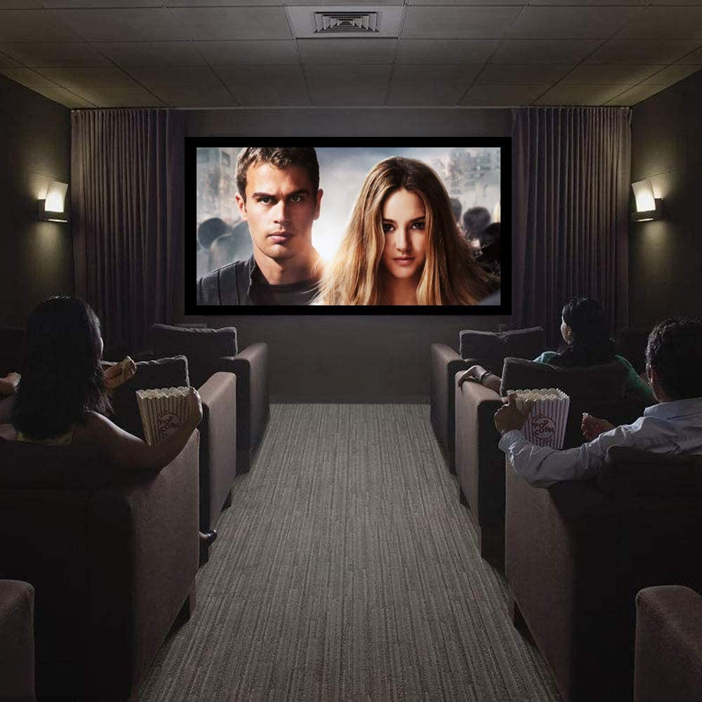 20in /20in Fixed Frame Projector Screen, Diagonal 2020, Active ...