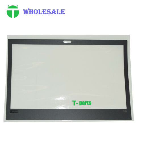 10Pcs New 01YR487 for Lenovo Thinkpad T480 LCD Front Bezel Cover Sheet Sticker