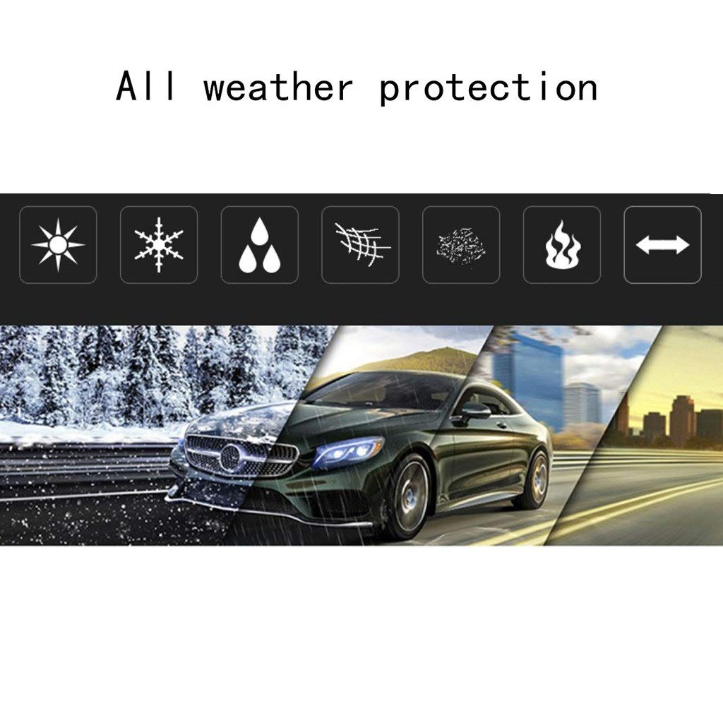 Hood Covers Thick and Cotton Velvet Hood Compatible with Mercedes ...